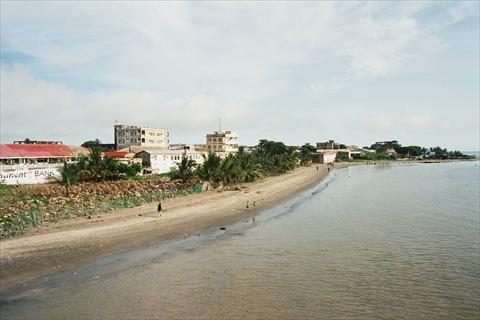 Beach in Banjul