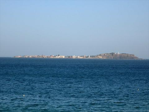 View over to Ile de Goree