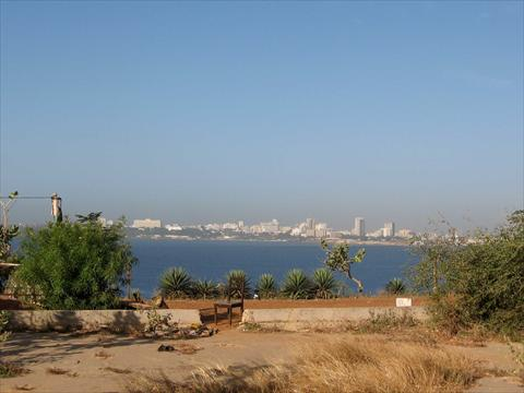 Dakar from a distance