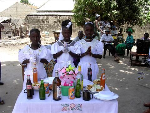 Communion in Gambia