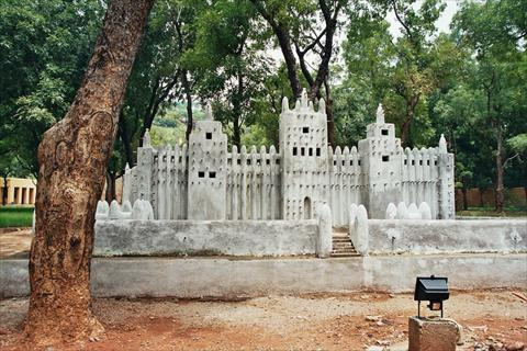 Djenne Mosque in Bamako Museum