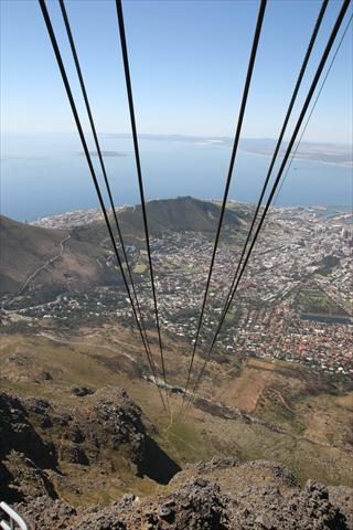 Table Mountain Cable Car view