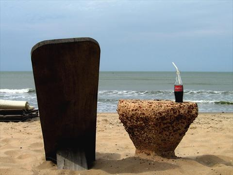 Coke at the beach