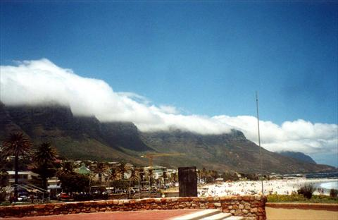 Table mountain with its tablec...